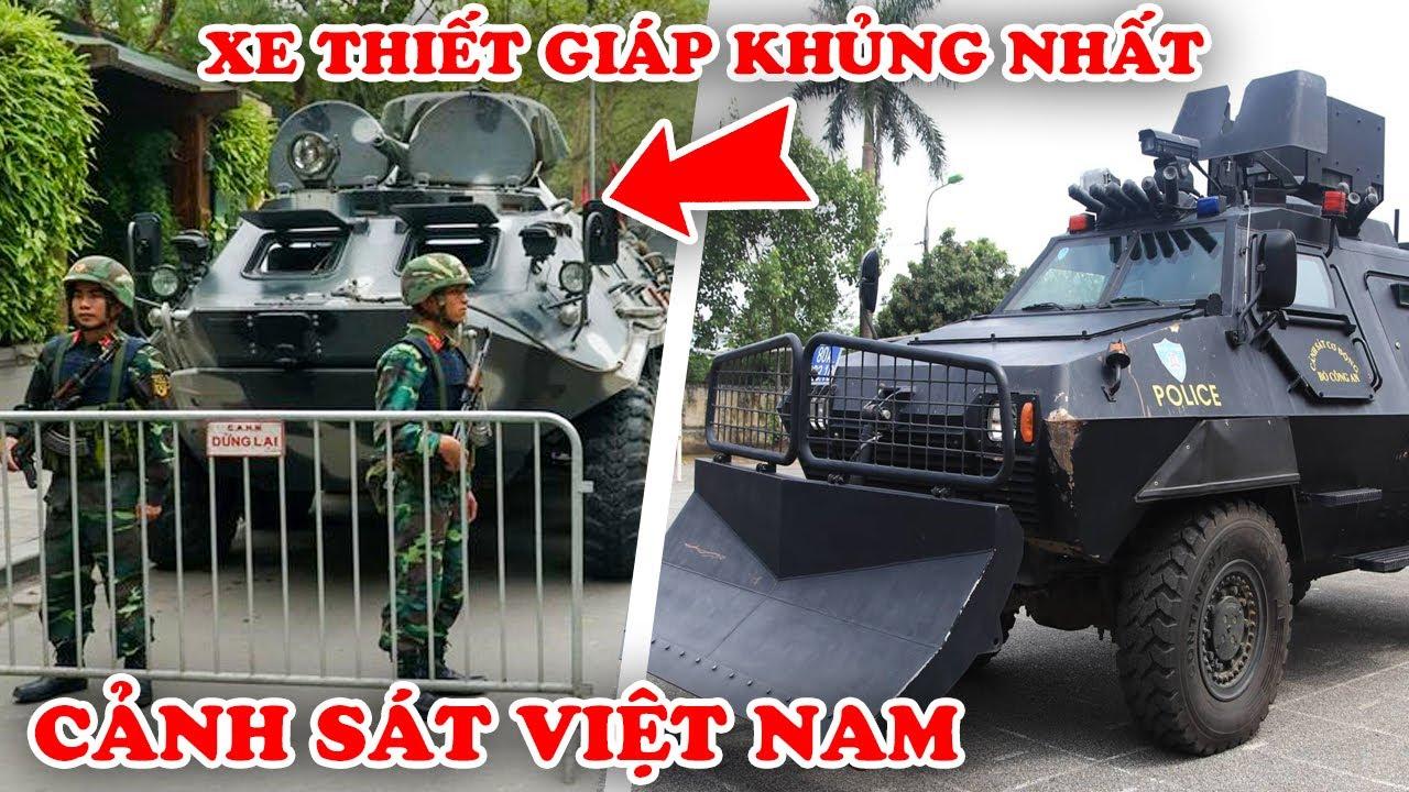 TOP 8 Chiếc Xe Bọc Thép Tối Tân Nhất Mà Việt Nam Đang Sử Dụng