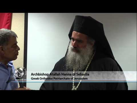 Archbishop Atallah Hanna on Palestine and Syria; Part 5 of 8