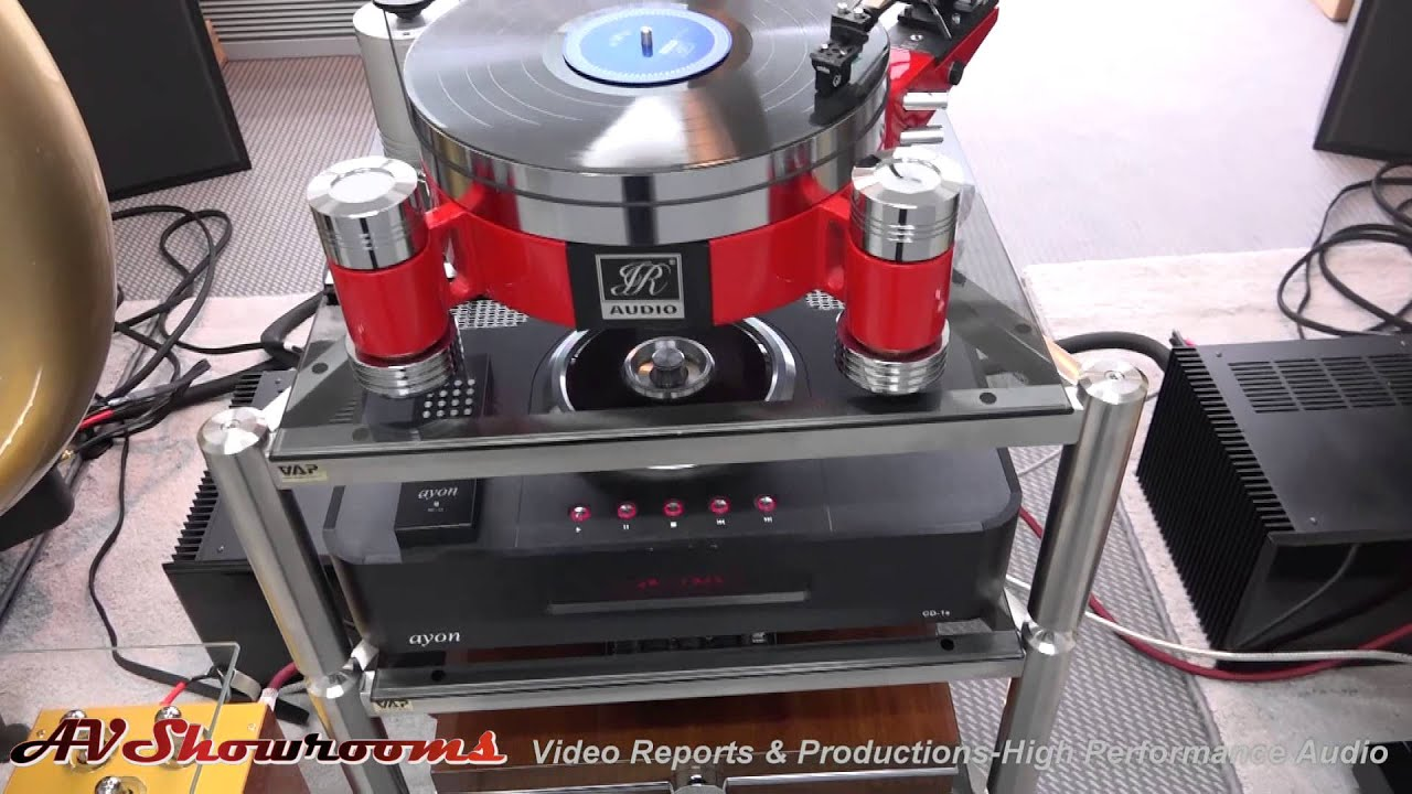 Beautiful JR Audio Turntables, My Sound Amplifiers, Auto Tech Horn Loudspeakers, High  End Munich 2015   YouTube