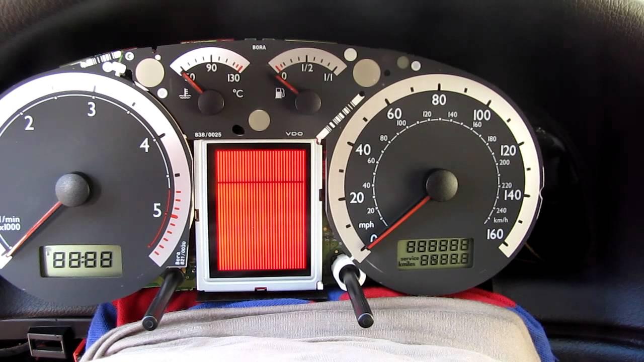 site web pentru reducere încălţăminte vânzare ieftină din Marea Britanie Output Tests after display replacing, MAXI DOT VW Bora - YouTube