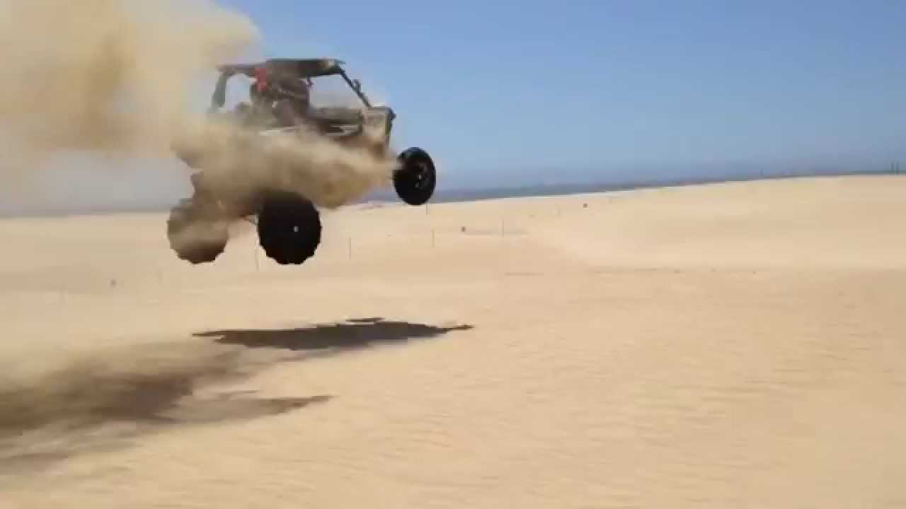 Rzr Xp1000 Exploding Off Dune Jump At Pismo Beach Ca You