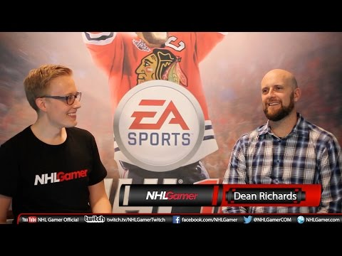 Dean Richards NHL 16 interview - Full version