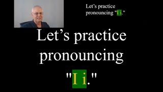 How to Pronounce the Letter - i - in words: Speak American English #9