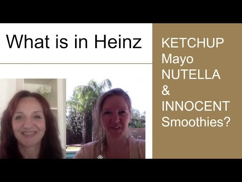 What's in Heinz Ketchup, Mayo, Nutella and Innocent Smoothies?