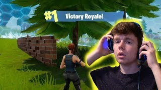 MY FIRST TIME PLAYING FORTNITE AND I WON?! *Clickbait