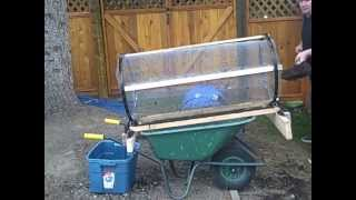 how to build a worm casting compost sifter. Black Bedroom Furniture Sets. Home Design Ideas