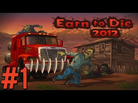 NIEFORTUNNY HELIKOPTER! - Earn To Die 2012 #1