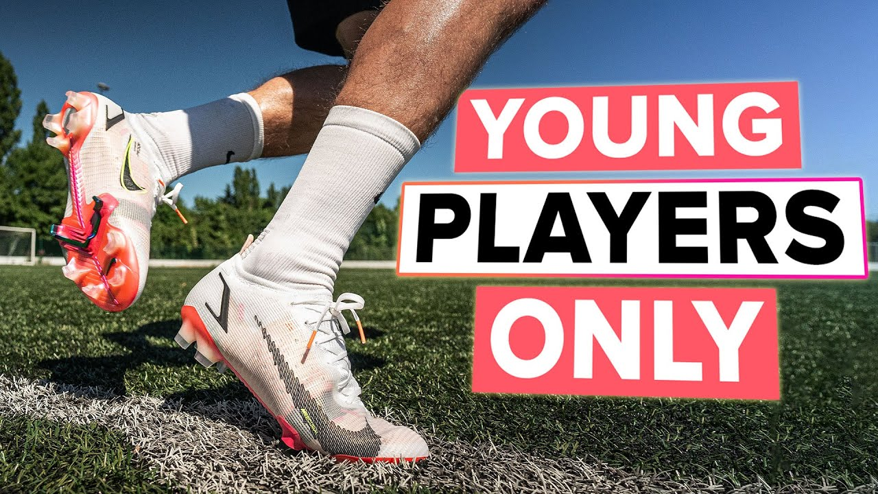 These boots are for Young players ONLY