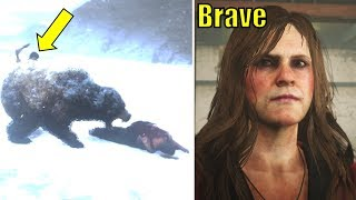 What the Incest Sister Does if Her Brother is Fed to Bear - Red Dead Redemption 2