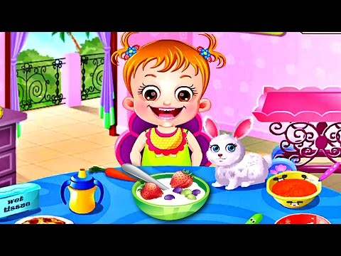 Малышка Хейзел Кухня   Игра как Мультик для Девочек