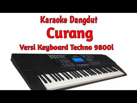 """CURANG (KARAOKE) "" semi style keyboard techno 9800i sampling OMB"