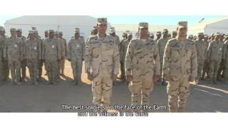 بالفيديو| رابح صقر يدعم الحرب على الإرهاب بأغنية