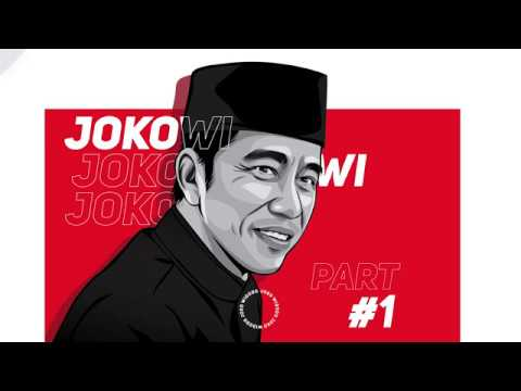 BELAJAR VECTOR - PART 1 Tutorial membuat vector JOKOWI dengan adobe illustrator
