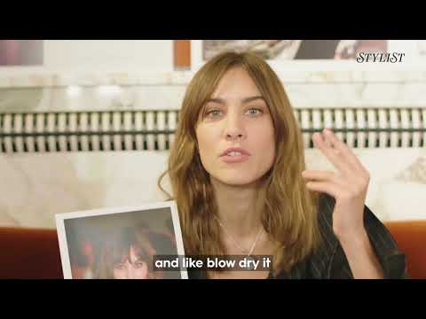 We asked Alexa Chung about her most iconic hair looks