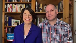 Amy Klobuchar Discusses Husband's COVID-19 Recovery   The View