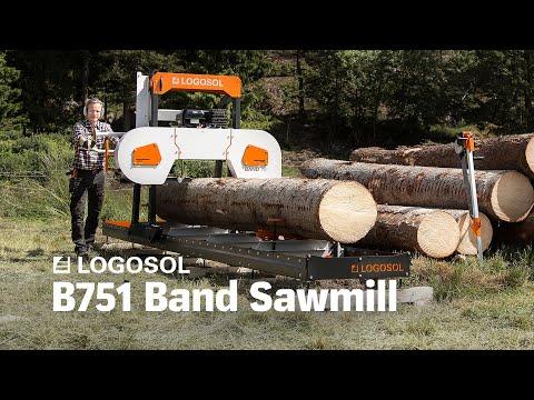 B751 Band Sawmill | LOGOSOL