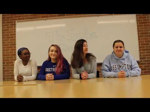 Assumption College LLC Housing Application Video 2019