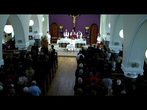 Joan Cusack Funeral Mass and interment in St Brigid's Church, Graveyard, Killygarry