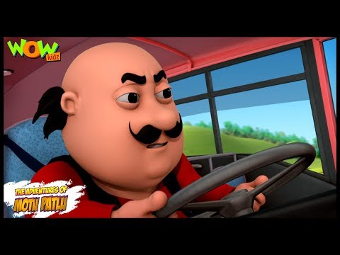 Motu Patlu Ki Bus - Motu Patlu in Hindi -...