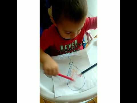 Рисования.Учимся рисовать.(раскраска для малышей) - YouTube