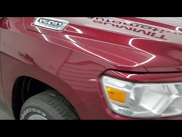 2021 Ram 1500 Big Horn Delmonico Red Pearlcoat New. walk around for sale in Fond Du Lac, Wisconsin