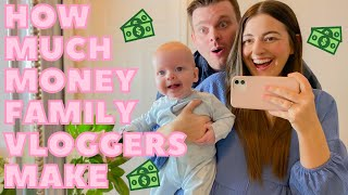 HOW MUCH MONEY WE MAKE ON YOUTUBE AS VLOGGERS