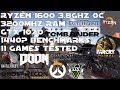 Ryzen 1600 + GTX 1070 - 1440P Gaming Benchmarks - 11 Games Tested
