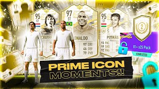 FIFA 21 Icon Moments Pack Opening!
