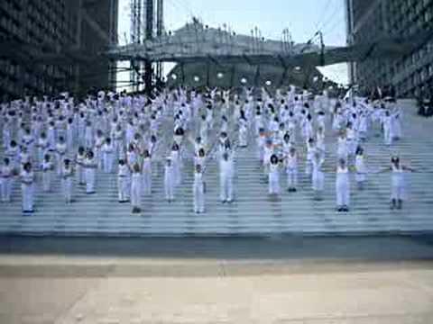 Danse Une Heure Blanche Pour Mille Fenetre Youtube