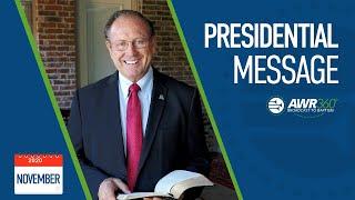 video thumbnail for November 2020 President's Report