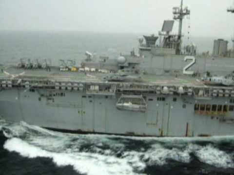 HMM-262 on deployment