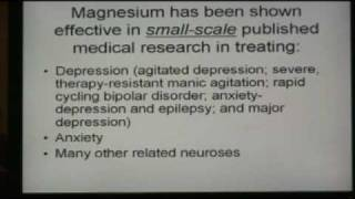 Depression Treatment with Magnesium by George Eby