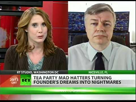"Tea Party founder: ""Tea Party is a joke"""