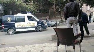 لحظة وصول جثامين المعدومين في قضية النائب العام لـ مشرحة زينهم