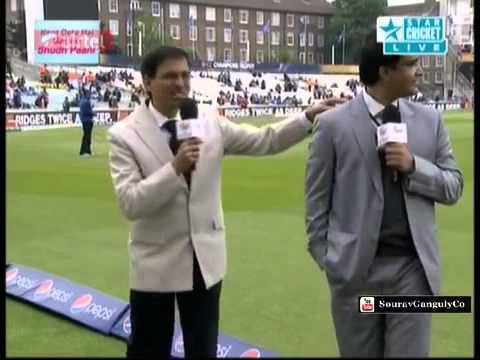 Funny Ball Follows Sourav Ganguly & Harsha Bhogle Wherever They Go   CT 2013