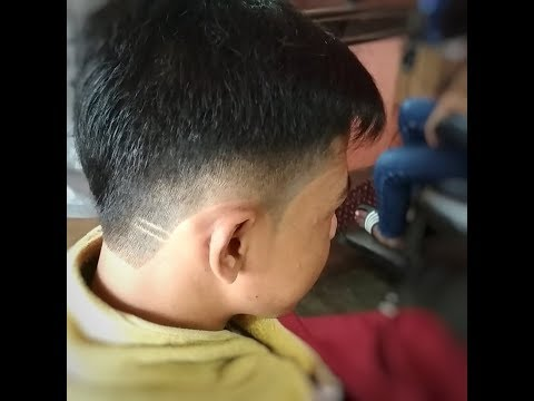 Haircut Tutorial  cara potong rambut model undercut  tipis samping ... abc08d9c84