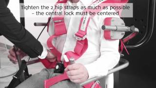 How to secure the patient in the TRV Chair - Interacoustics