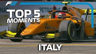 Top 5 Formula 2 Moments | 2019 Italian Grand Prix