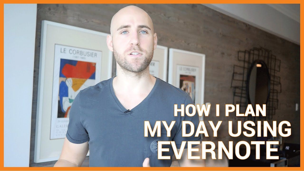 How I Plan My Day Using Evernote Tony Robbins Rpm Method Youtube