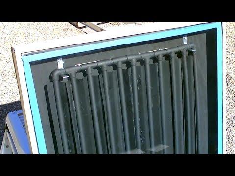 "DIY Solar Water Heater! The CPVC ""Drip-Edge"" Solar Water Heater! – New Design/Exp.(CPVC+Metal)"