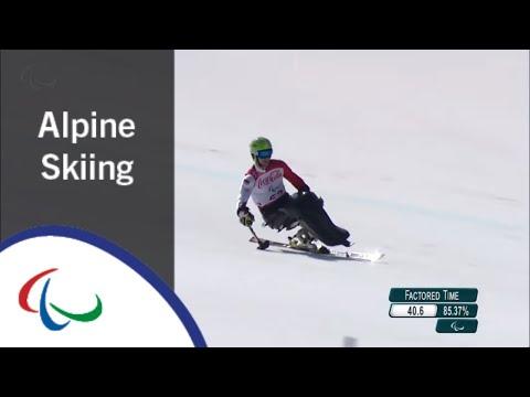 Igor SIKORSKI | Super Combined | Super G | Alpine Skiing | PyeongChang2018 Paralympic Winter Games