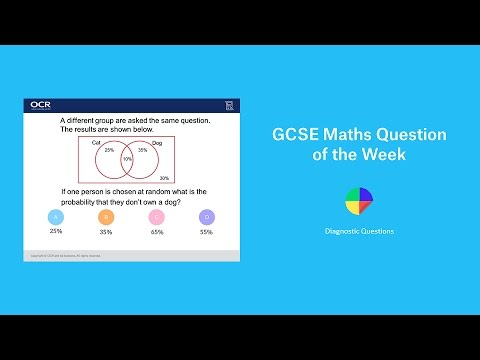 Venn Diagrams Gcse Maths Question Of The Week Youtube