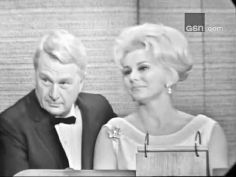 What's My Line?  Eddie Albert & Eva Gabor; PANEL: Martin Gabel, Suzy Knickerbocker Feb 20, 1966