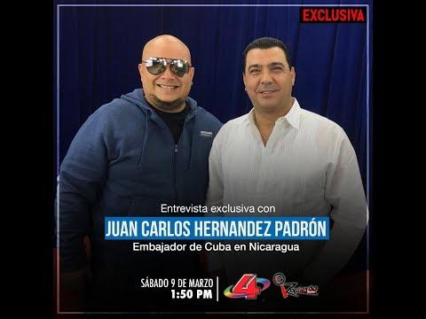 Izquierda Visión - Entrevista Con El Embajador De Cuba En Nicaragua Juan Carlos Hernández
