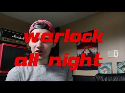 warlock all night mp3