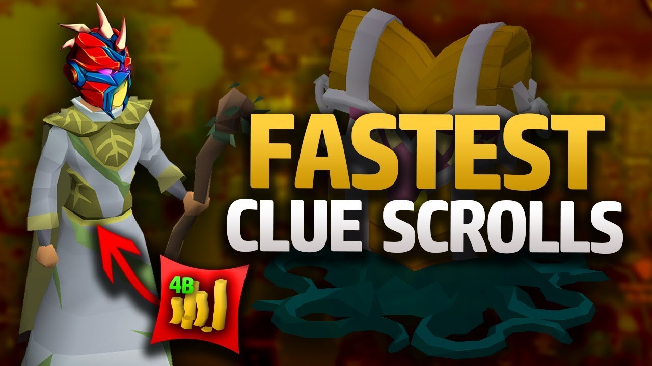 How to Get Clue Scrolls Fast in OSRS