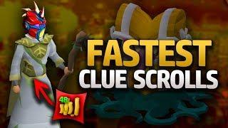 Fastest Ways to get Clue Scrolls (OSRS)