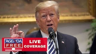Trump Major Announcement - LIVE COVERAGE