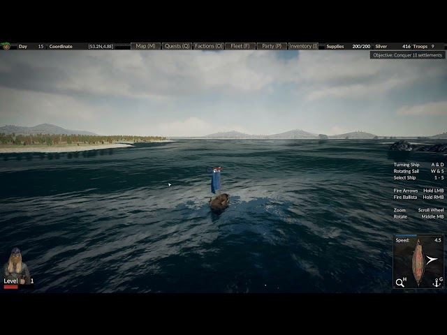 The Viking Way Early Access PC gameplay - Mount and Blade? No, longship and axe!