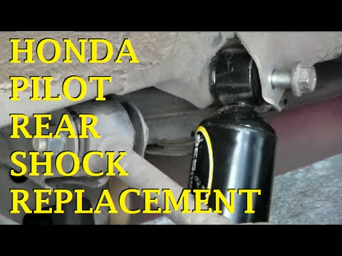 Honda Pilot Rear Shock Replacement